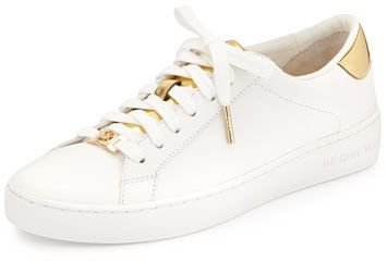 0e850c89c8b2 MICHAEL Michael Kors Irving Leather Lace-Up Sneaker