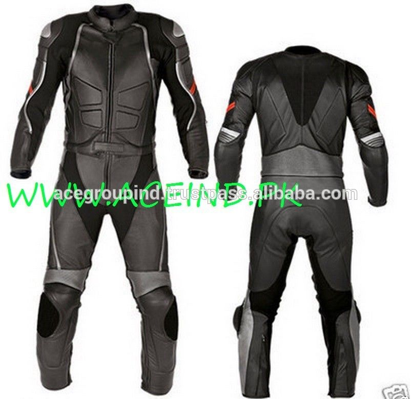 MOTORBIKE LEATHER SUIT MEN BIKER JACKET PANT MOTORCYCLE LEATHER SUIT Custom Made