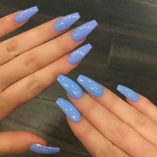 Nail design Best Acrylic Nails for 2018 \u2013 54 Trending