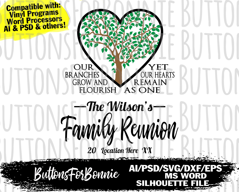 cutting file cricut reunion shirt silhouette family shirt svg family shirt svg family reunion svg template Family Reunion athletic