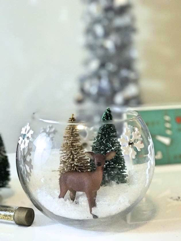 How To Make Your Own DIY Snow Globe In 6 Easy Steps