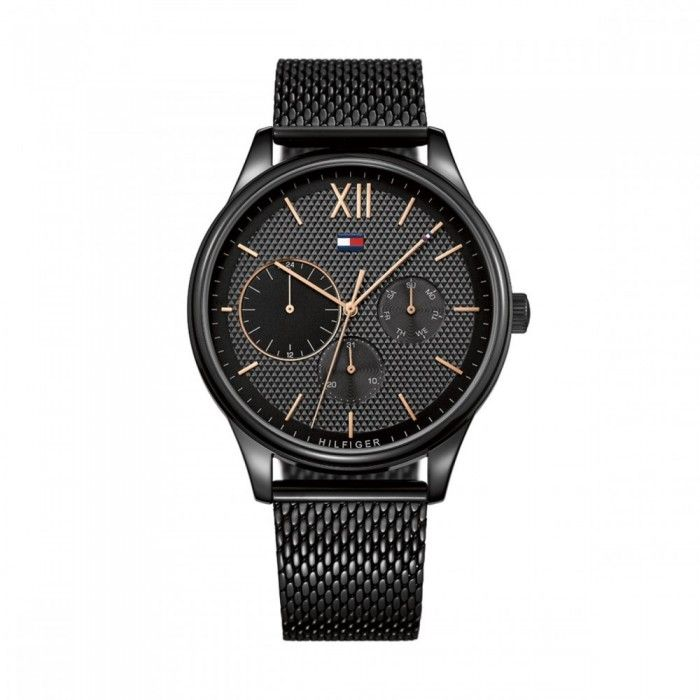 5c0ebb9f678 Relógio Tommy Hilfiger Damon Preto - 1791420