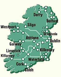 Train Travel In Ireland Map.How To Travel Ireland By Train In 2019 Ireland Travel Tips