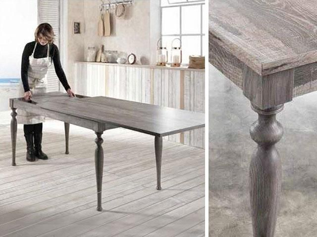 Friulsedie Prezzi ~ Table alexander stones a vintage design and a wood structure
