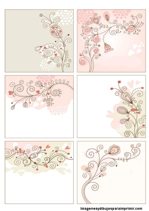 Tarjetas De Flores Para Imprimir Flores Para Imprimir