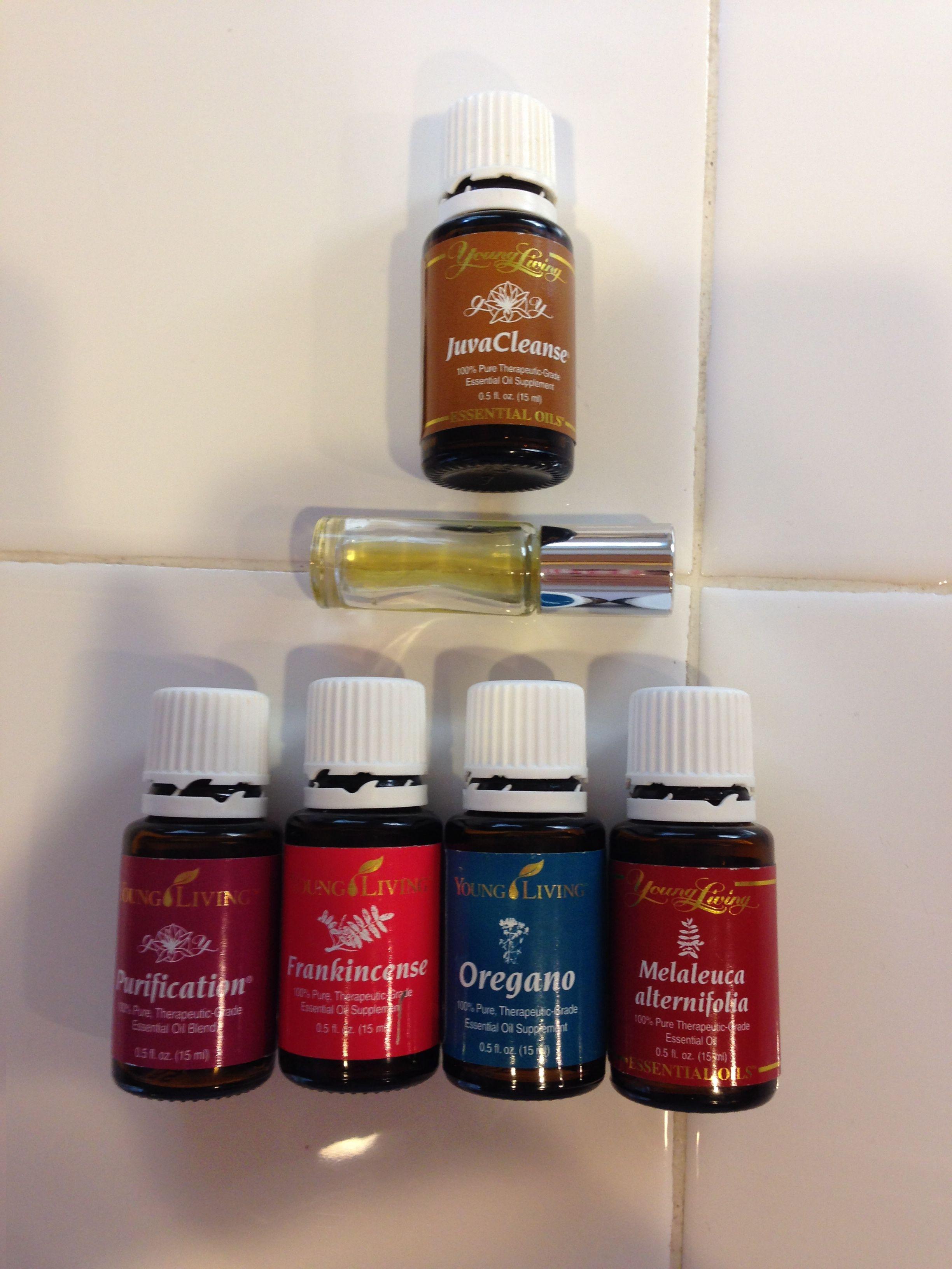 Oregano oil for molluscum contagiosum