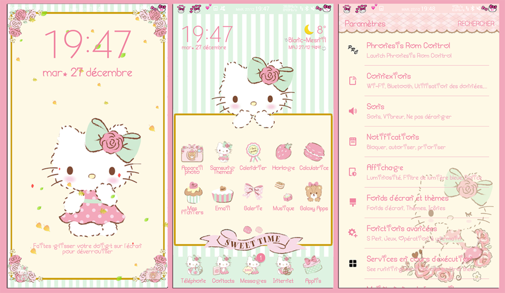 Hello Kitty Sweet Macaron For Samsung Theme Store By Ladypinkilicious Deviantart Com On Deviantart Hello Kitty Themes Hello Kitty Hello Kitty Wallpaper