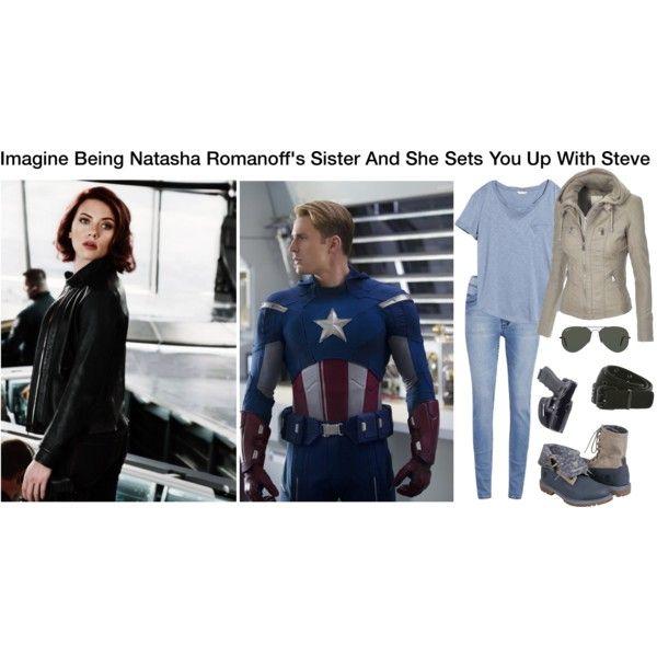 Imagine Being Natasha Romanoff's Sister And She Sets You Up