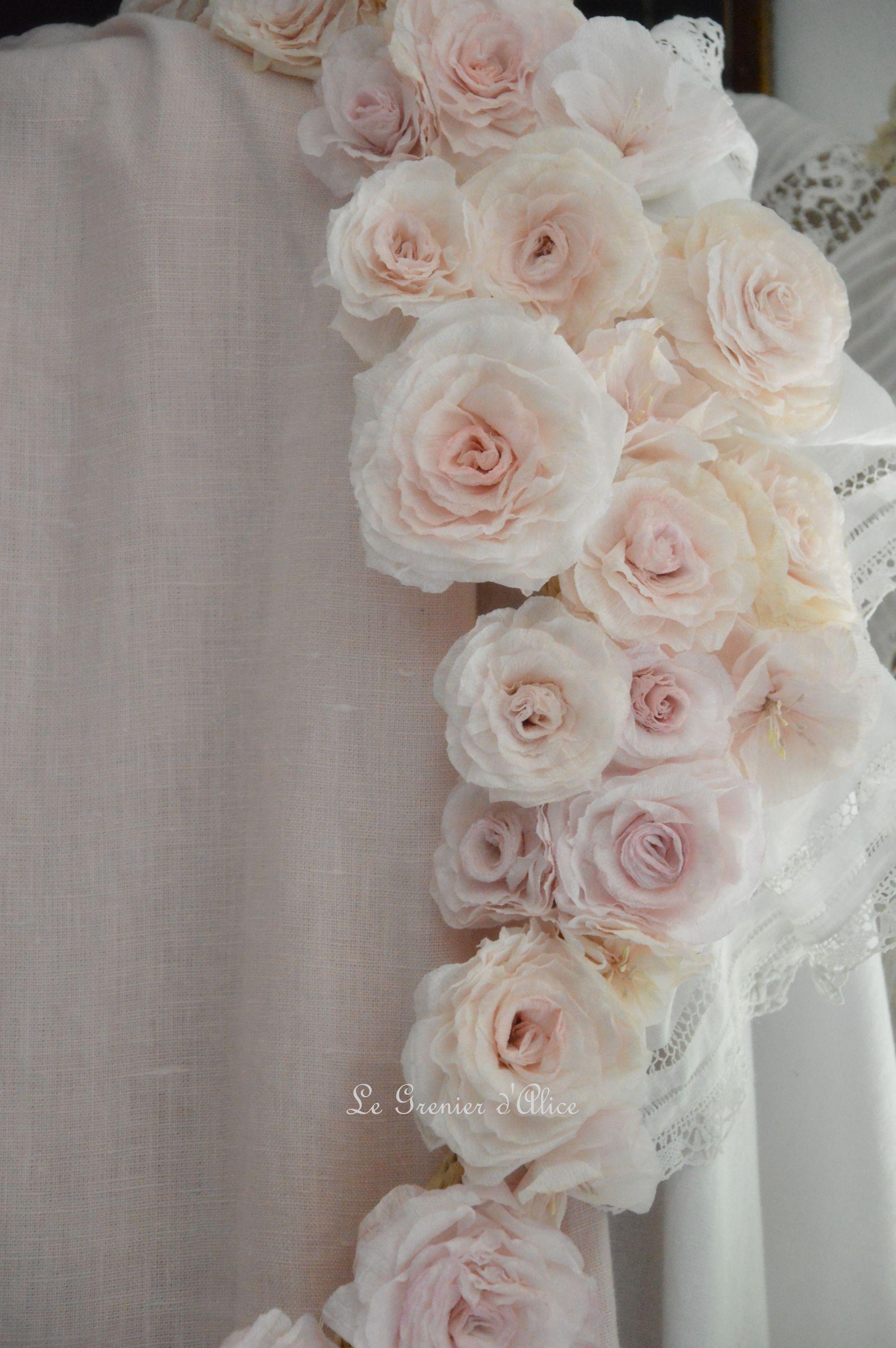 fleurs tissu le grenier d 39 alice couture pinterest loft fleur et fleurs en tissu. Black Bedroom Furniture Sets. Home Design Ideas