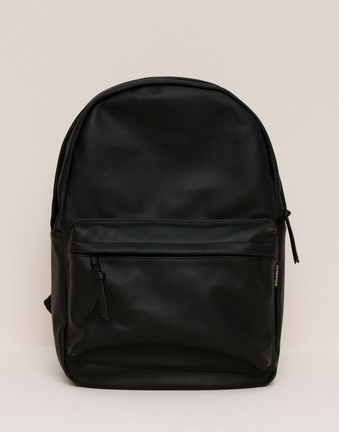 FAUX LEATHER BACKPACK - BAGS   WALLETS - MAN - PULL BEAR Indonesia ... 8bbd9274dc3f7