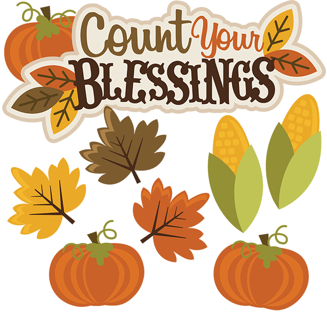 Count Your Blessings SVG thanksgiving svg file