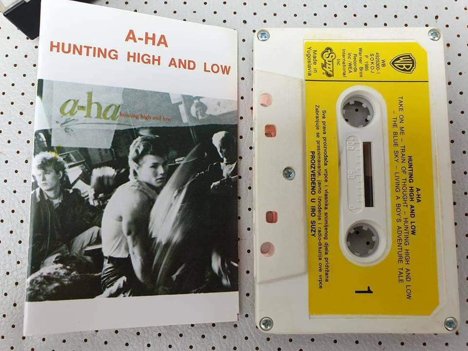 A Ha Hunting High And Low 1988 Original Cassette Tape Suzy