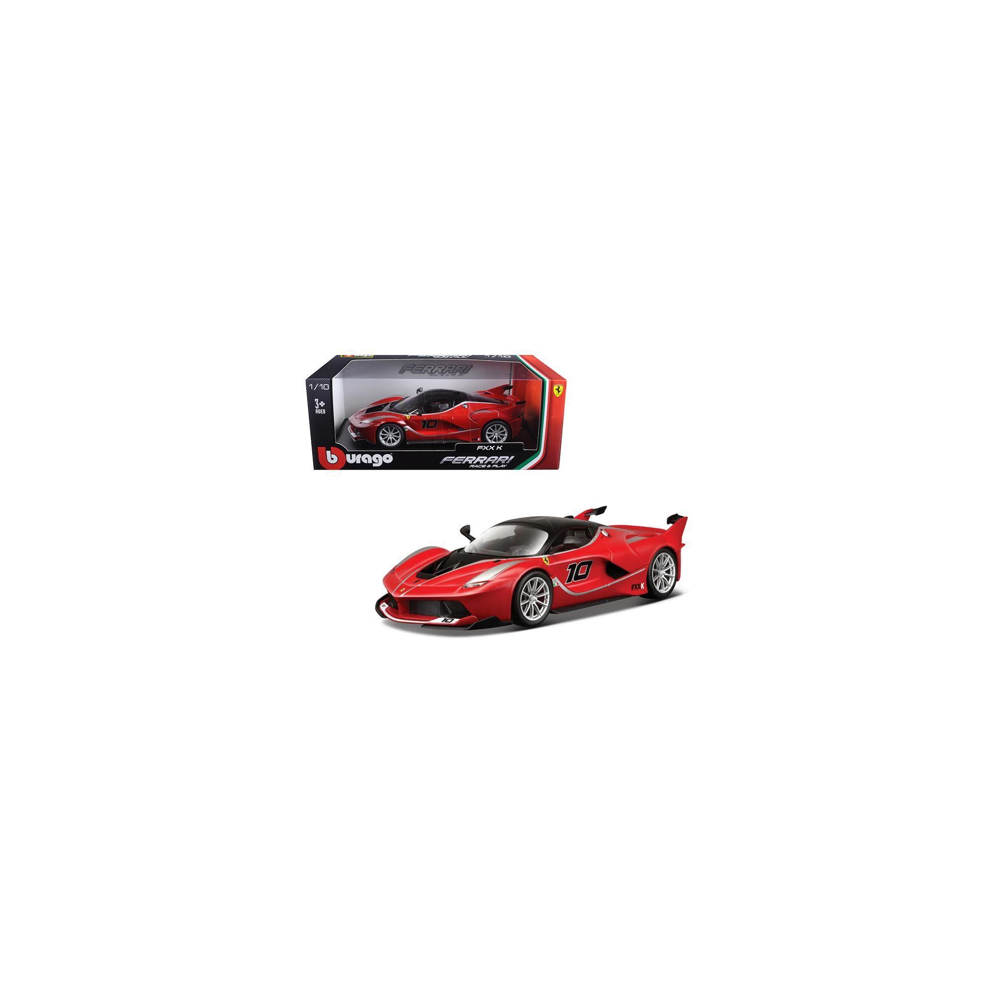 Ferrari FXX-K #10 Red 1/18 Diecast Model Car by Bburago #ferrarifxx