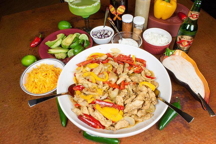 Chicken Fajitas Extravaganza - Great for a Mexican Fiesta like Cinco de Mayo