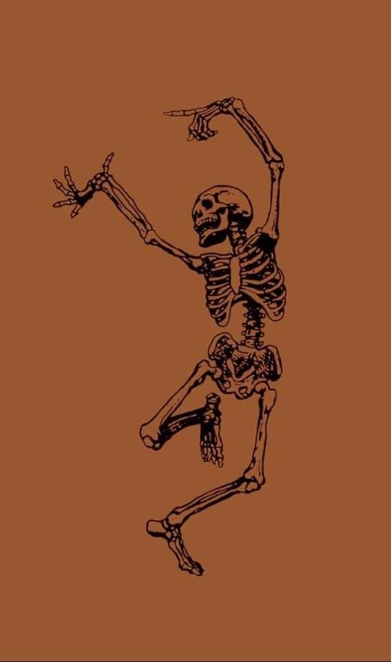 Dancing skeleton - #Dancing #Skeleton #fallwallpaperiphone