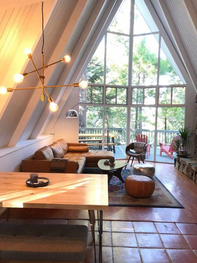 A Frame Homes You Can Airbnb Sunset Magazine A Frame House Lake Arrowhead Renting A House