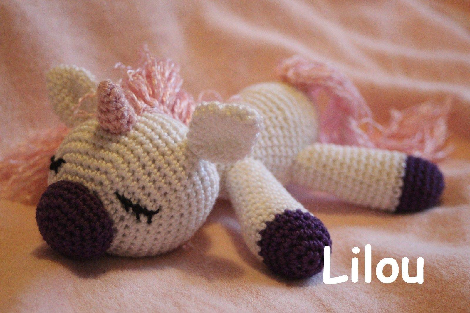 Licorne Au Crochet Diy Modele Tuto Gratuit Crochet Diy