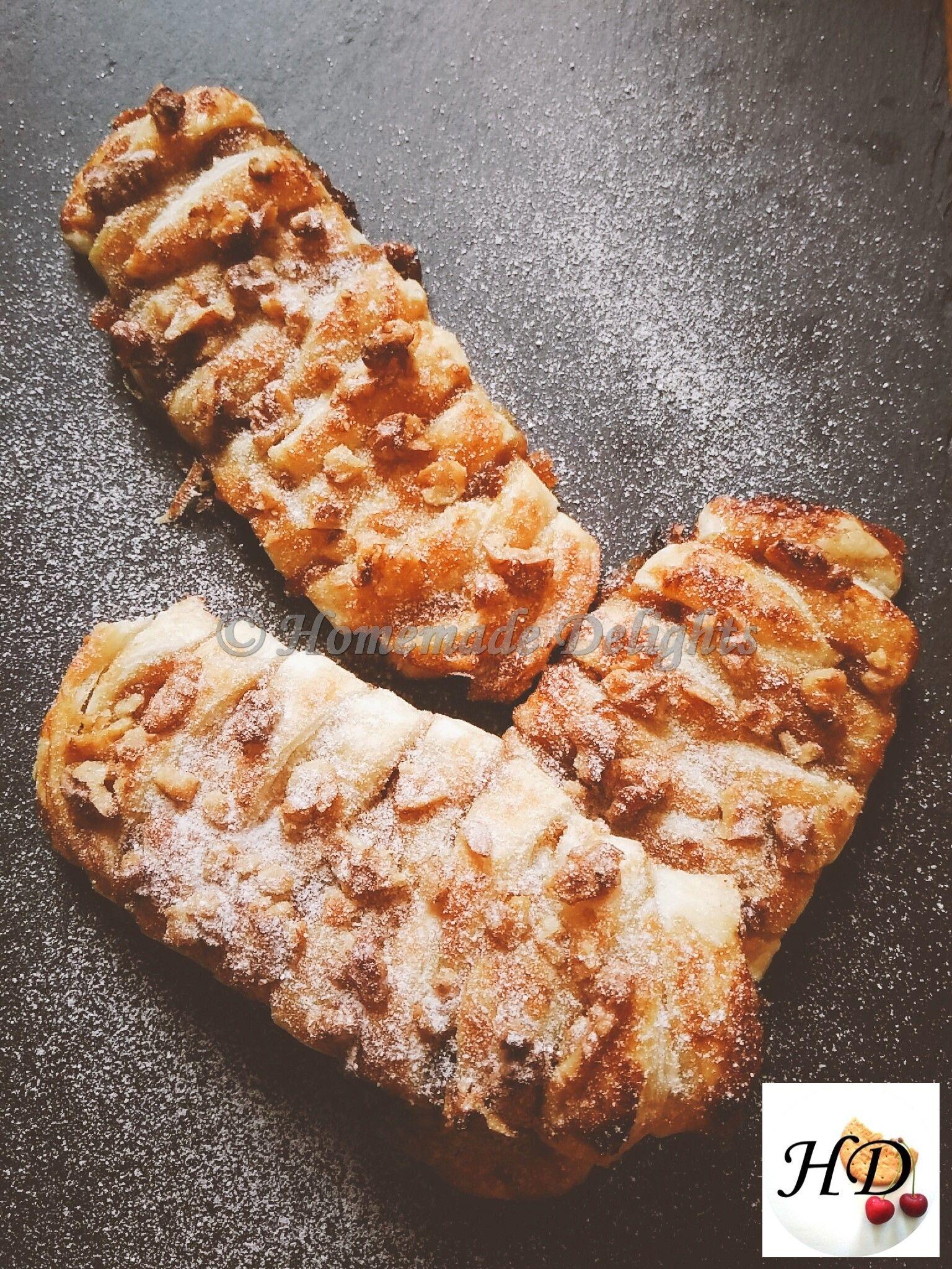 Treccine allo sciroppo d'acero e noci, buone e veloci sono irresistibili con il loro gusto deciso! seguitemi sul mio blog o gli altri social :) https://homemadedelights.blog