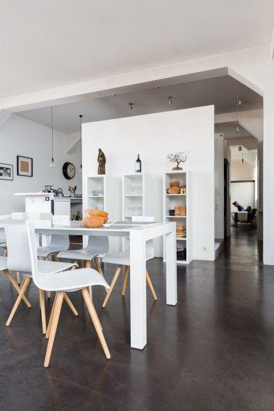 Unser Bramante ausziehbare Esstisch in Weiß in Kombination mit den - der ausziehbare esstisch