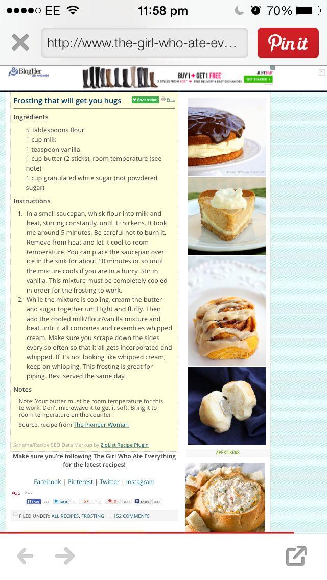 Frosting | Cake decorating, Eat, Frosting