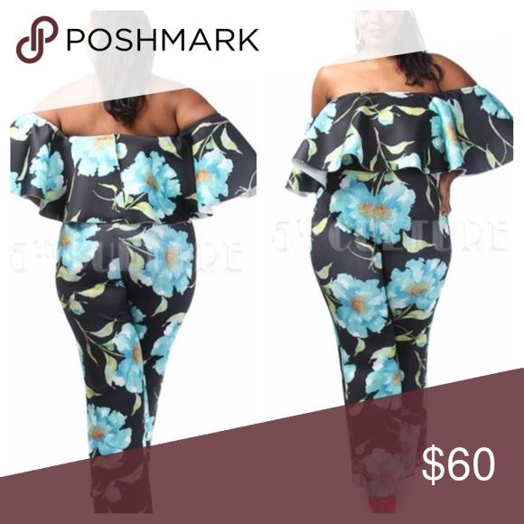 Beautiful floral jumpsuit Beautiful floral jumpsuit Pants Jumpsuits & Rompers