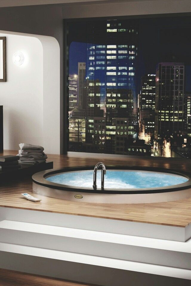 Pin By Ram Barose On Architecture Jacuzzi Bathroom Indoor Hot Tub Indoor Jacuzzi