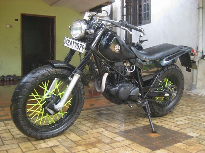 Motor Bikes Yamaha Tw200 2014 For Sale Sri Lanka Engine Paint