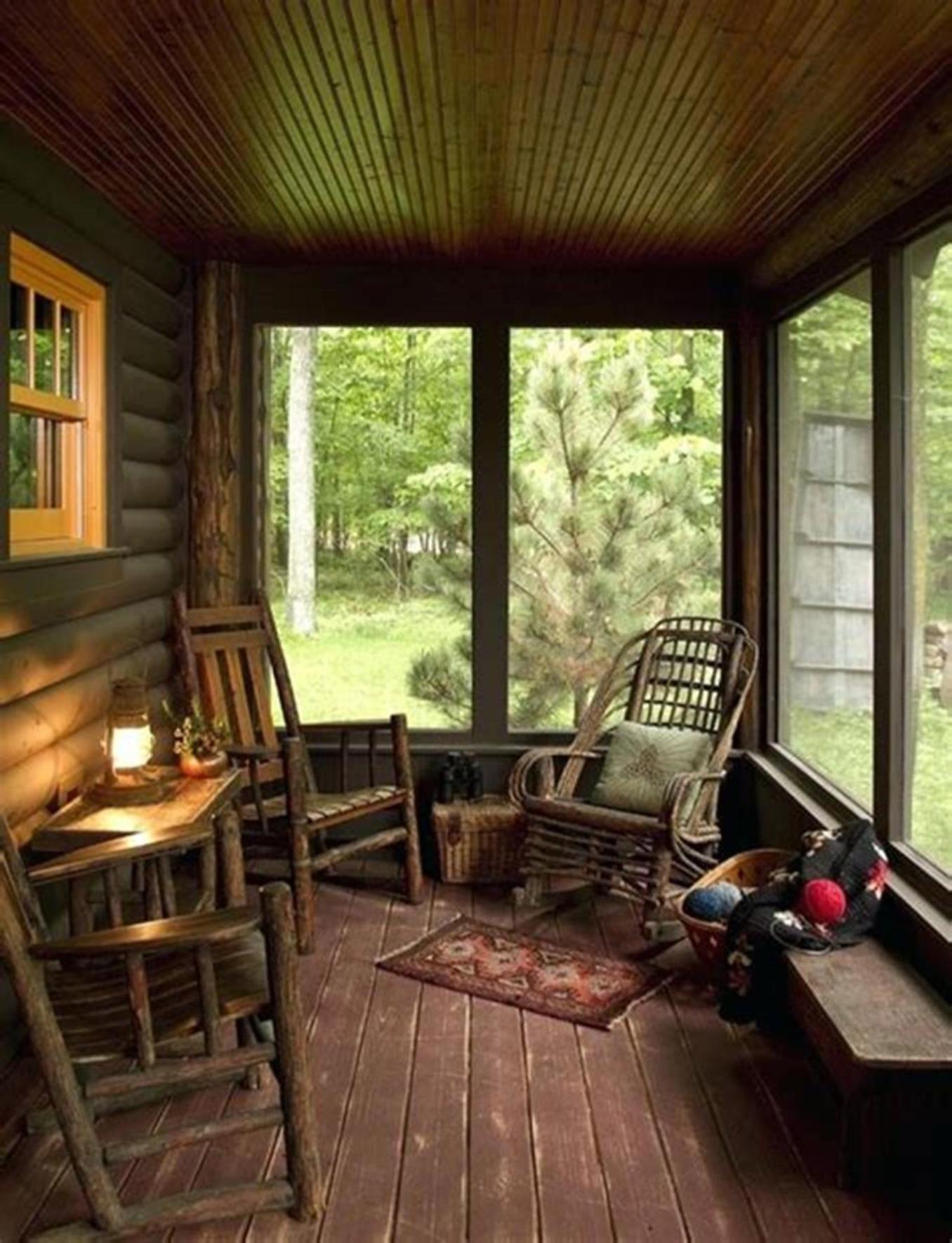 35 Best Rustic Porch Furniture Ideas You'll Love - HomeDeCraft #rusticporchideas