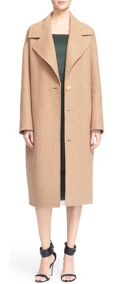 770d3922d4 Grey Jason Wu Double Face Wool Coat | Ideas 14 | Wool coat, Camel ...