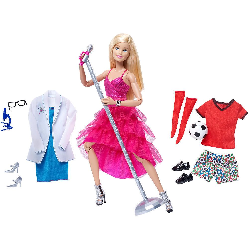 New 2016 Barbie Made To Move Doll Set Mattel Barbie Fashion