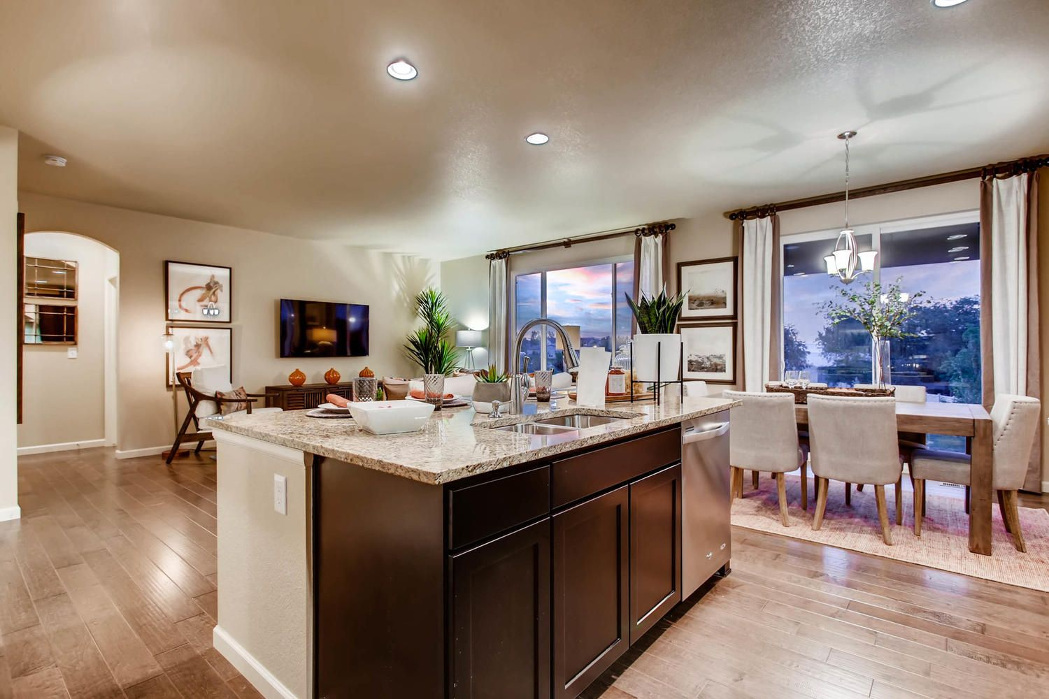 Kitchen Design At Our New Model Home Home Kitchen Design New Homes