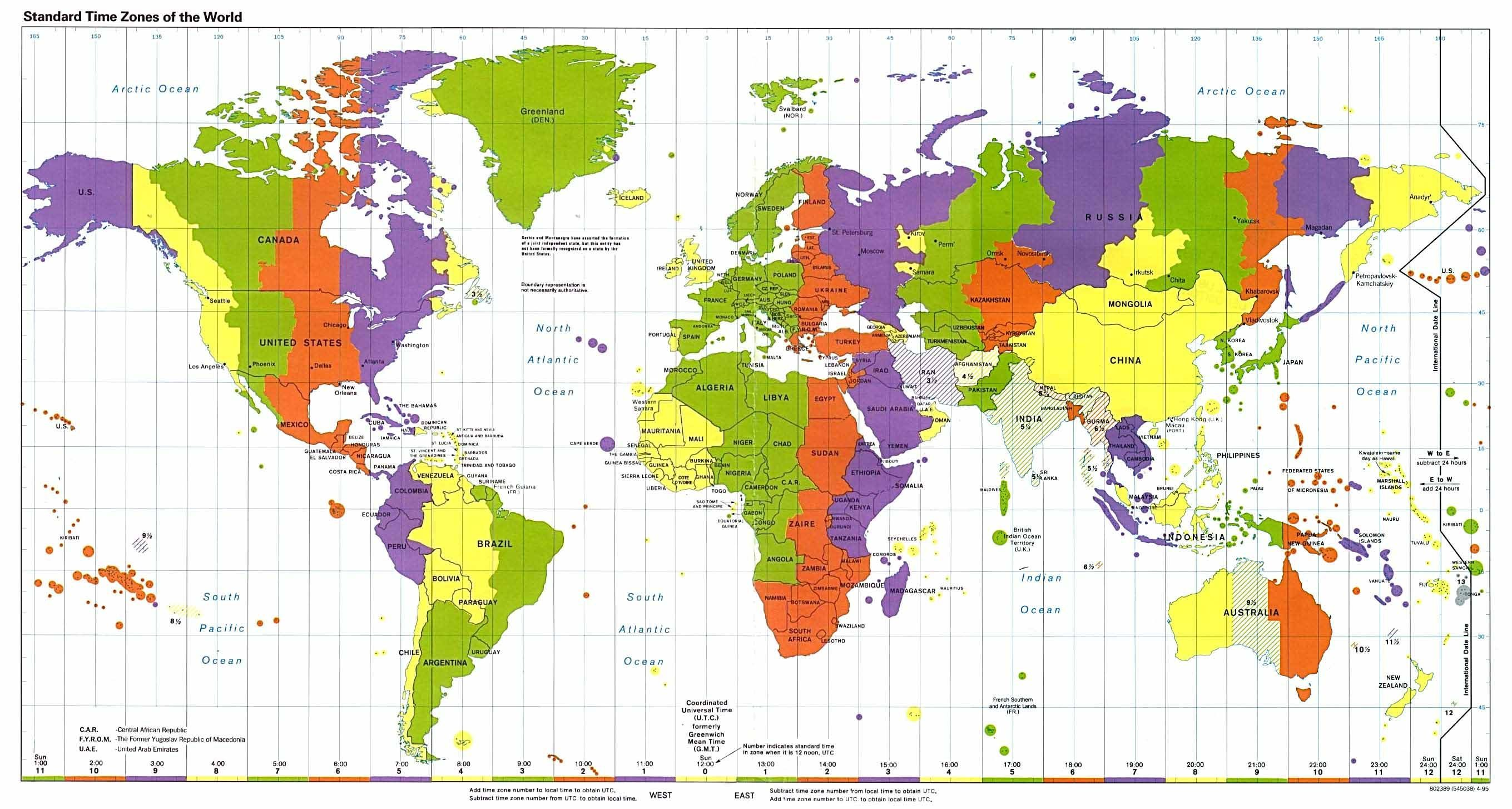 Political World Map High Resolution World Map With