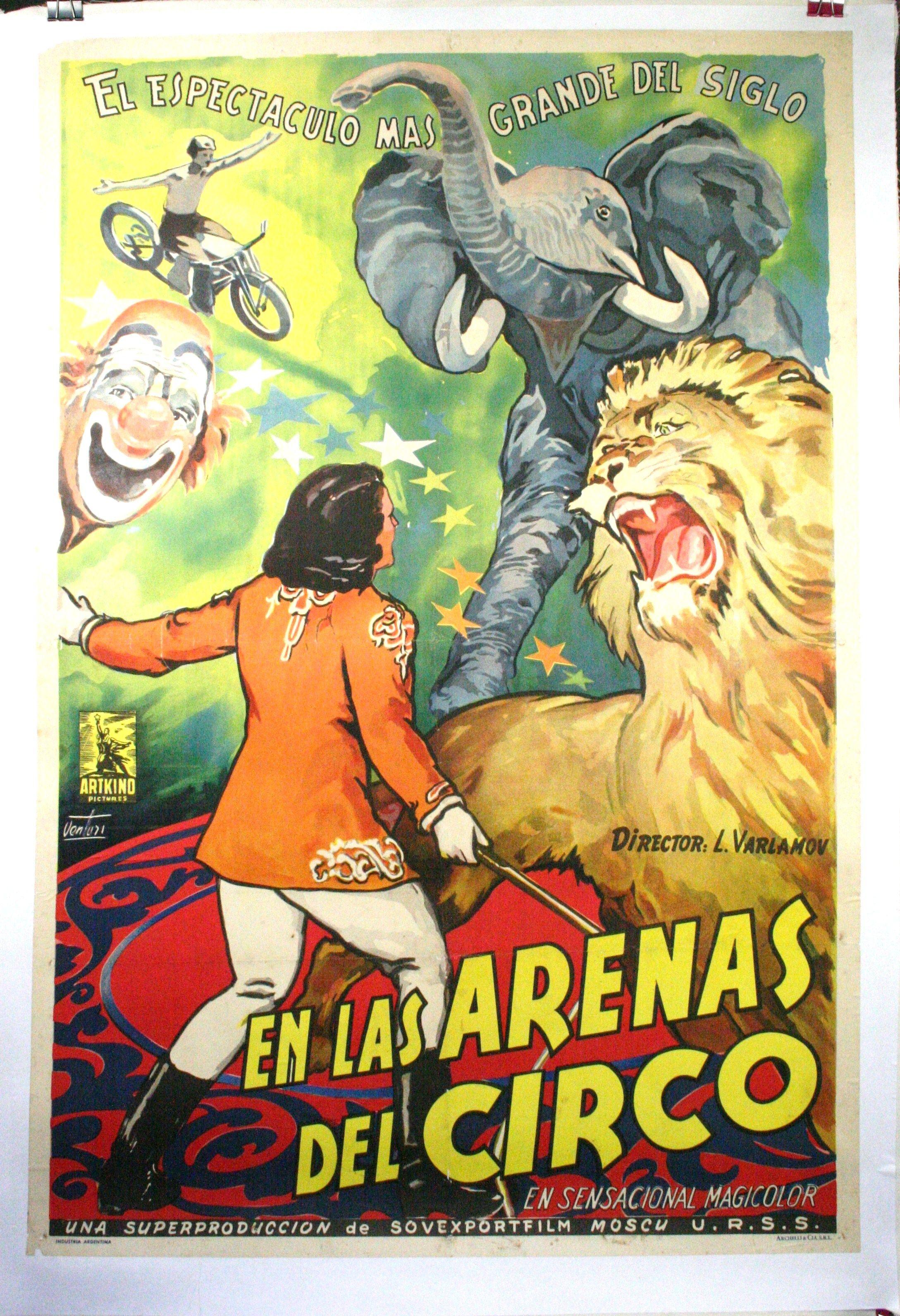 EN LAS ARENAS DEL CIRCO – Argenitinian Circus Poster