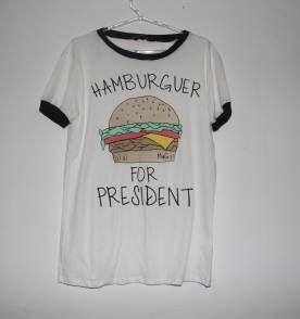 Hamburguer for presidente
