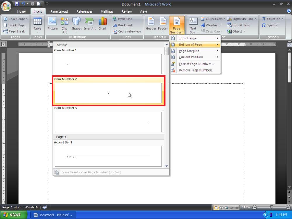 Cara Membuat Letak Nomor Halaman Yang Berbeda Pada Microsoft Word Eman Mendrofa Microsoft Model Pembelajaran Halaman