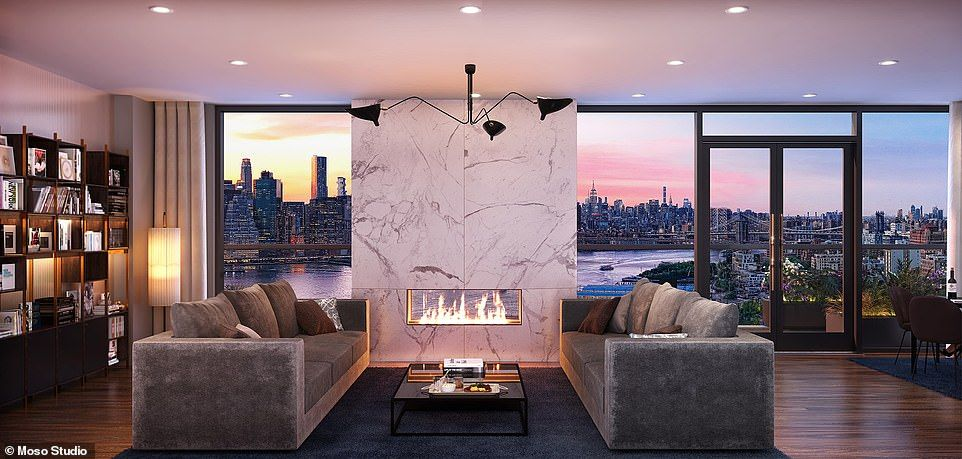 Brooklyn Penthouse   House and home magazine, Penthouse