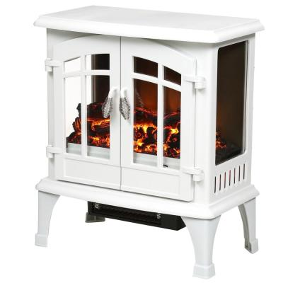 Legion 1 000 Sq Ft Panoramic Infrared Electric Stove In White
