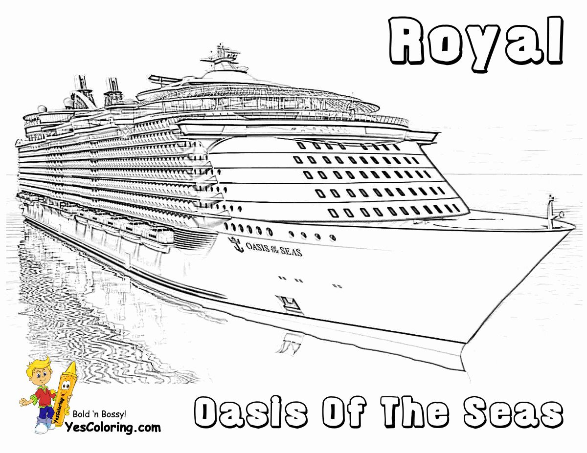Pirate Ship Coloring Sheet Best Of Spectacular Cruise Ship