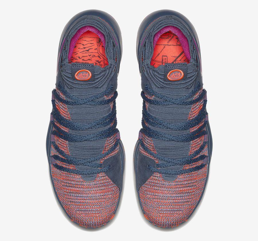 0939514fa01 Authentic Nike KD 10 All-Star Ocean Fog Fuchsia Blast Hyper Crimson  897817-400