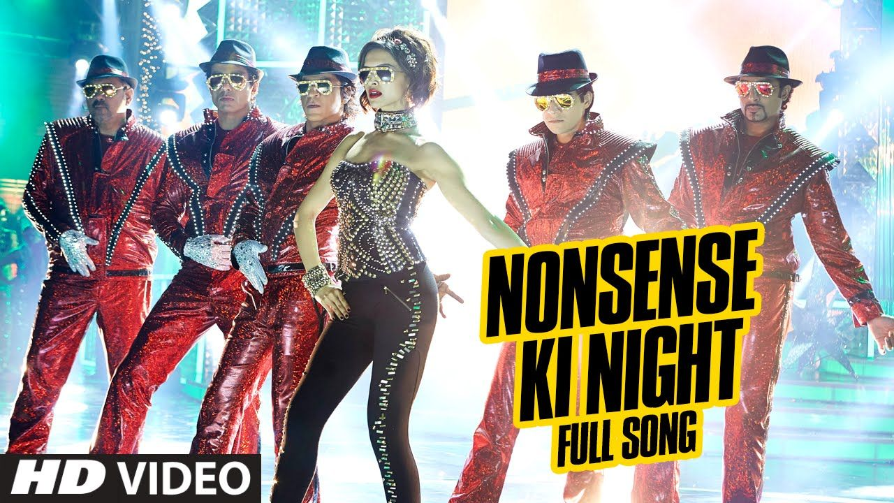 Official Nonsense Ki Night Full Video Song Happy New Year Shah Rukh Khan Mika Singh