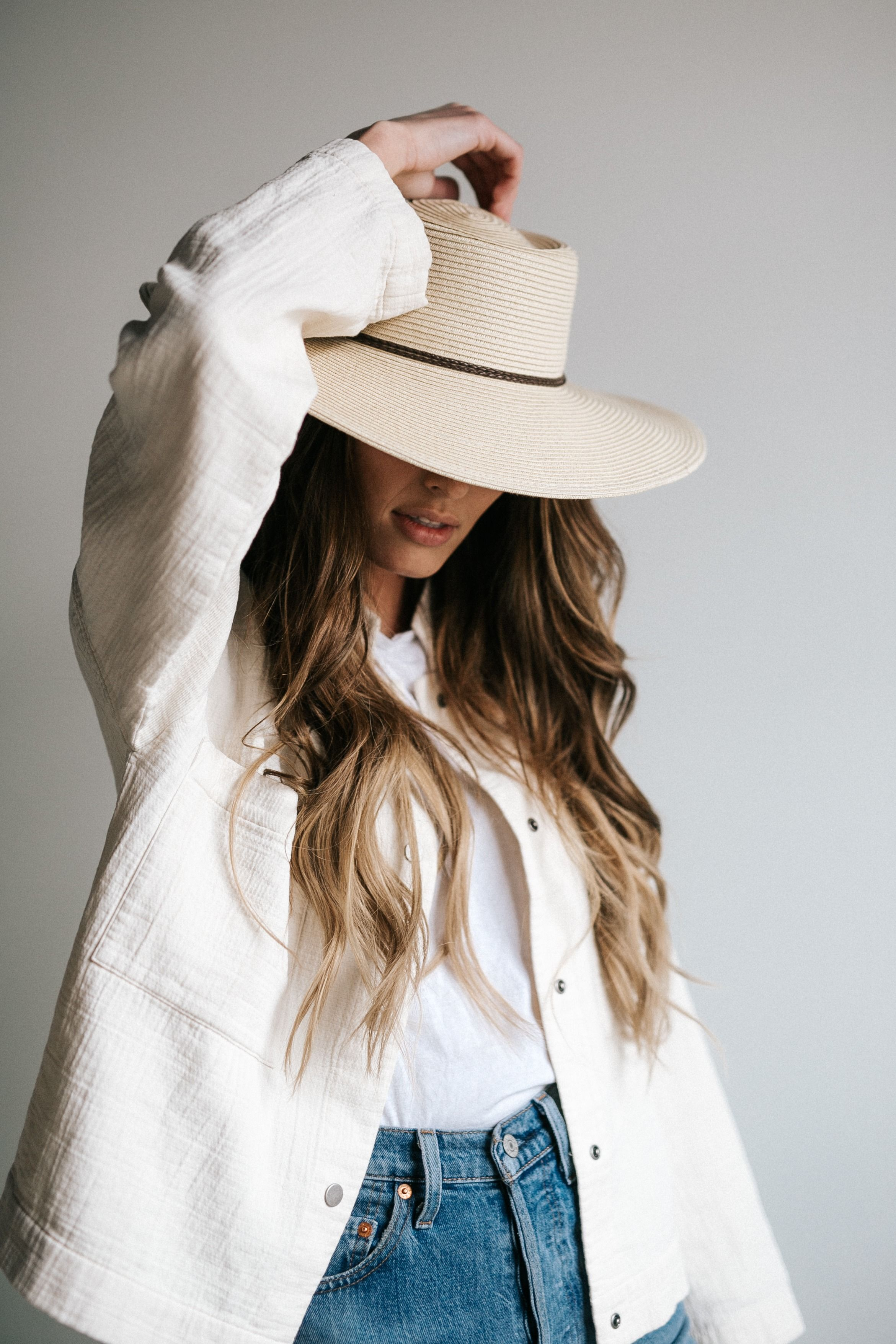 94eb8855d4f7b Tilly - Wide Brim Gambler Straw Hat in 2019 | gigi pip : meet the ...