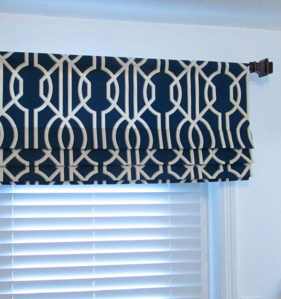 scarves half window sheer pocket navy premium or designs curtains blue royal home indigo valance rod products warm