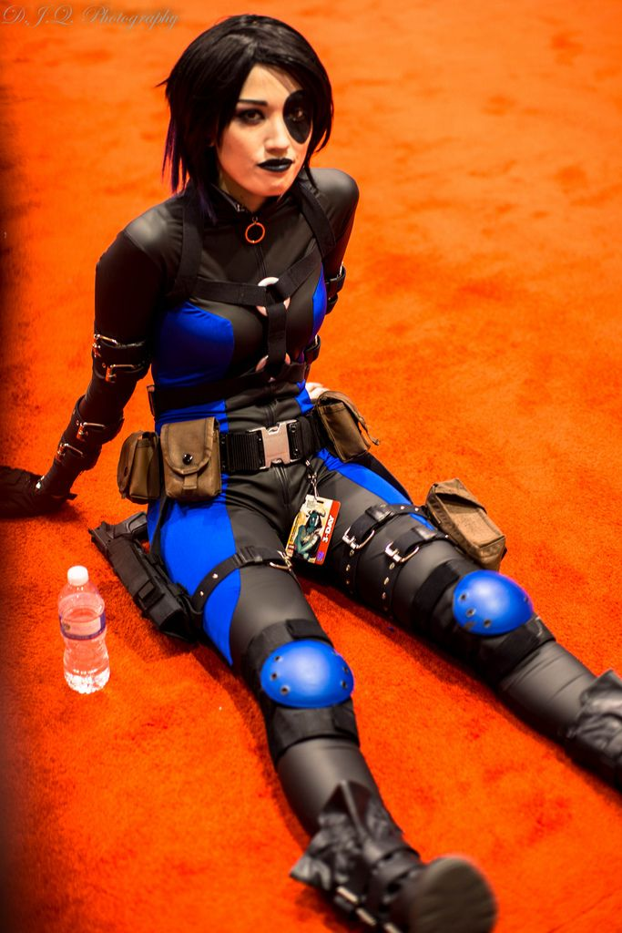 Domino #cosplay | Domino (X-men) Cosplay | Cosplay, Marvel ...