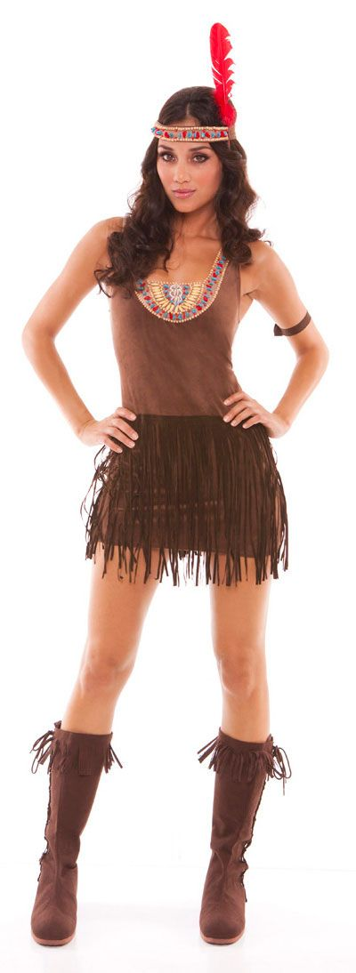 Womenu0027s Indian Princess Halloween Costume  sc 1 st  Pinterest & Womenu0027s Indian Princess Halloween Costume | Halloween costumes ...