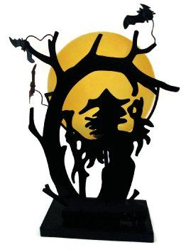 beautiful large and well made candle holder lend a spooky touch to rh pinterest com Scary Halloween Clip Art Witch Clip Art