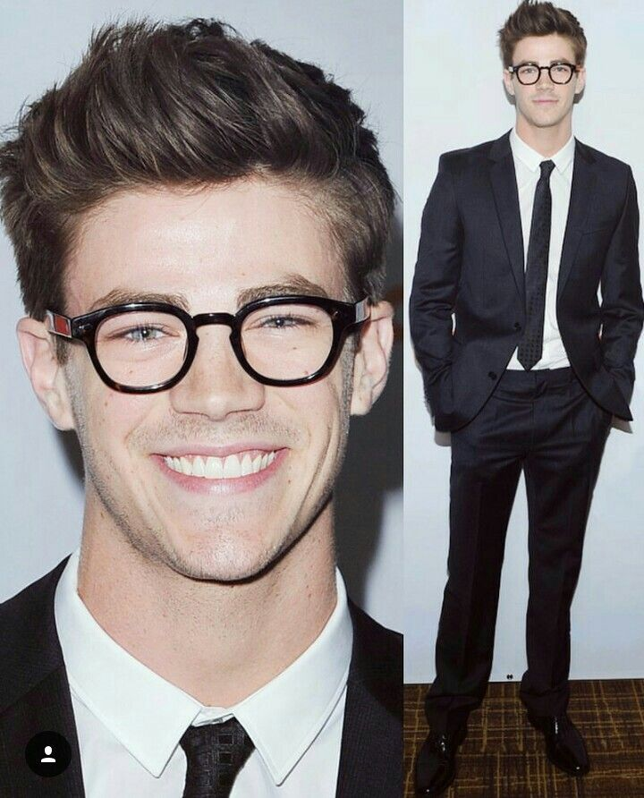Grant Gustin, so cute.