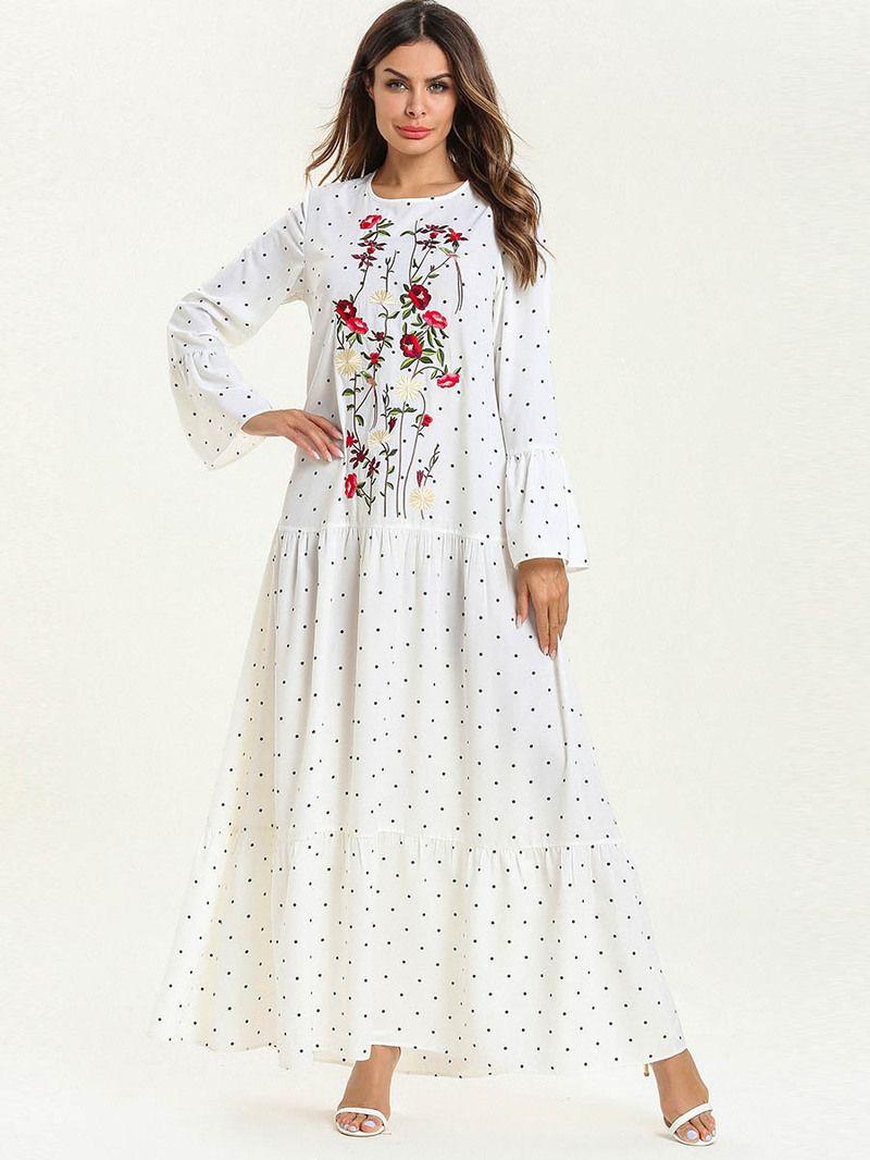 UK Womens Short Sleeve Maxi Long Dress Ladies Plain Muslin Casual Swing Dress