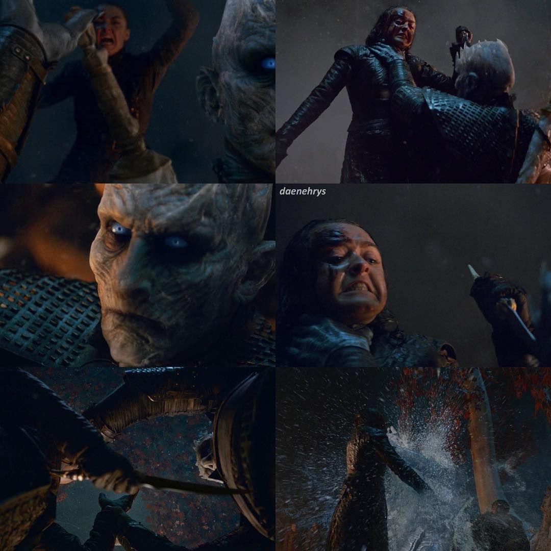 [8x03] OMG OMG OMG ARYA KILLED THE NIGHT KING I HAVEN'T