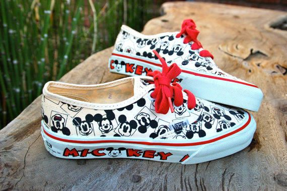 Vans Disney Shoes Collection - Soleracks | Mickey shoes, Disney ...