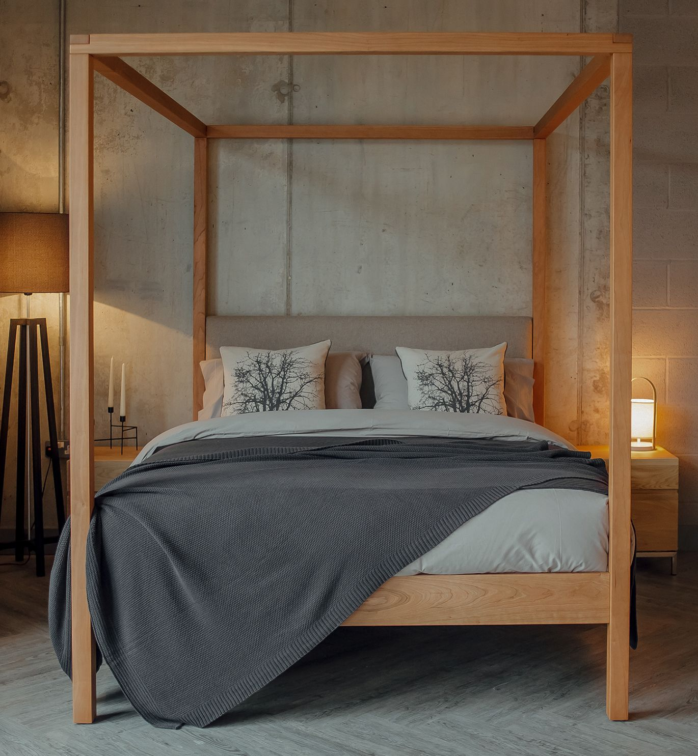 Best A Luxury 4 Poster From Natural Bed Company A Solid Wood 400 x 300